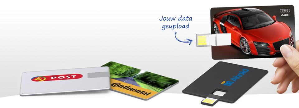 USB kaarten